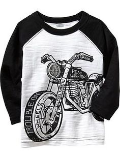 Moto Graphic Tees for Baby size 18-24 & 4T