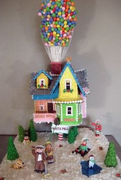 Stephanie of Cake Fixation created this Disney favorite when she entered a competition in Port of Bellingham, Wash., in 2009. It should come as no surprise that she won first place.