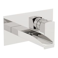 Mode Cooper wall mounted waterfall basin mixer tap | VictoriaPlum.com