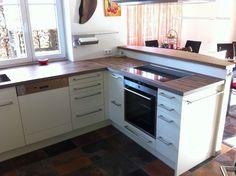 Delightful Arbeitsplatten Kuche Ideen Corian Weiss Rueckwand Marmoroptik   Ideen Für  Die Küche   Pinterest   Interiors And Kitchens