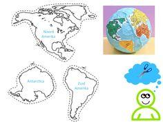 De zeven continenten van de wereld