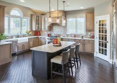 203 best Kitchens images on Pinterest | Toll brothers, Luxurious ...
