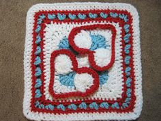 Ravelry: Heart to Heart Afghan Block pattern by Julie Yeager