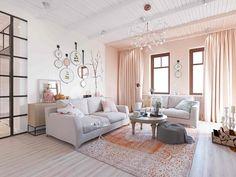 화사한 분위기가 돋보이는 아름답고 실용적인 30평대 아파트 인테리어 : 네이버 포스트