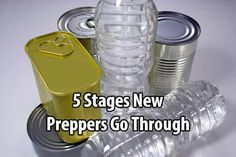 5 Stages New Preppers Go Through