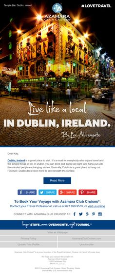 There is much more to Dublin than meets the eye. Just ask travel connoisseur, Lee Abbamonte.