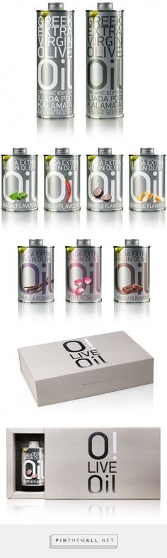 O!Live Oil Packaging by Mousegraphics | Fivestar Branding – Design and Branding Agency & Inspiration Gallery