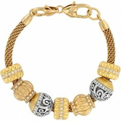 Brighton Glamorous In Gold Bracelet