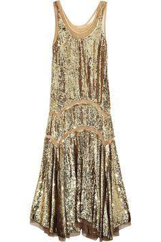 Michael Kors Sequined midi dress NET-A-PORTER.COM