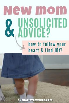 """New moms are magnets for unsolicited advice! Conflicting """"rules"""" for newborns and infants can be super stressful. Learn how to unleash the power of your own maternal instincts and find joy through attachment parenting. 7 key tips to get started from Such a Little While. Gentle Parenting, Parenting Hacks, Attachment Parenting Quotes, Unsolicited Advice, Quotes About Motherhood, Postpartum Care, Pregnancy Stages, Positive Discipline, Mom Advice"""