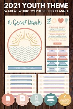 Gifts For Young Women, Newsletter Template Free, At A Glance Calendar, Young Women Lessons, Lds Youth, Fhe Lessons, Lesson Planner, Youth Activities, Lema
