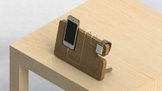 Apple Watch & Iphone 5/6/6+ All in one Stand by Van Flute by Jordan Van Flute — Kickstarter