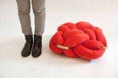 Modern Knot cushion by Knot Studio
