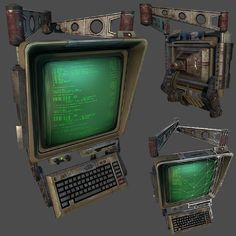My First UDK scene Fallout Vault 0 - Environment