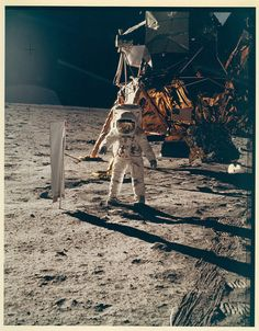 """""""That's one small step for [a] man, one giant leap for mankind."""""""