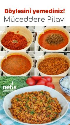 Müceddere Pilavı (videolu) – Nefis Yemek Tarifleri – – Pratik yemekler – The Most Practical and Easy Recipes