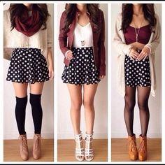 Spotted while shopping on Poshmark: Polka Dot skater skirt! #poshmark #fashion #shopping #style #Dresses & Skirts