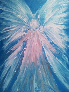 how to paint angel wings on canvas - Google Search