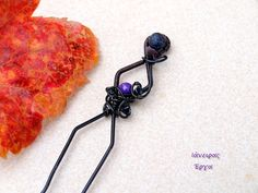 Hey, I found this really awesome Etsy listing at https://www.etsy.com/listing/90503965/wire-wrapped-bobby-pin-with-jade-lava