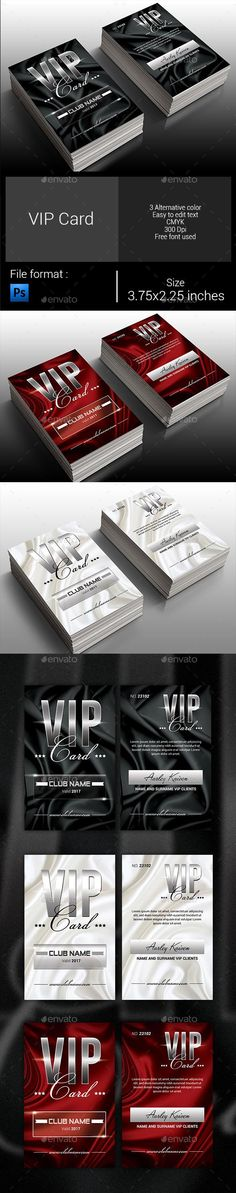 Multipurpose VIP Pass Invitation | Vip pass, Template and Vip card