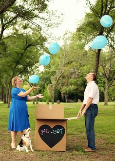 It's a Boy! Gender reveal party.