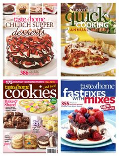0cc49507584 Cookbooks make great shower gifts! Find the perfect recipes for new brides  at shoptasteofhome.