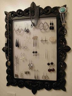 My DIY jewelry hanger