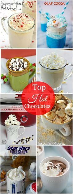 We love when you share the love!Oh, the weather outside is frightful, but the fire is so delightful. Especially when there's a glass of one of these Top Hot Chocolates in my hand! They are just too good not to share! Top Hot Chocolates Click NEXT directly above to view the NEXT Top Hot Chocolatein the collection. You can also click previous to go backwards. The collection is in order ...continue reading