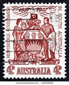 State of South Australia - arms in use 1936-1986