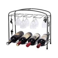 #Ebay #Wine #Bottles #Rack #Metal #Storage #Glasses #Holder #Table #Decor #Organizer #Party #Wines #MyGift
