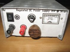 Bench top power supply
