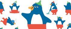 ペンギンのモーリー / 仙台うみの杜水族館 Mascot Design, Logo Design, Brand Character, Cartoon Painting, Line Sticker, Emoticon, Pattern Design, Cool Designs, Branding