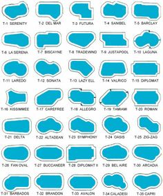 1000 images about resources and tips on pinterest for Small swimming pool sizes and shapes