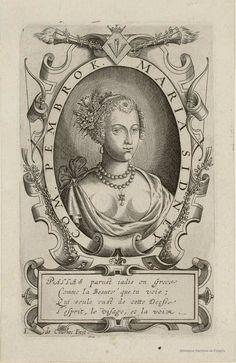 MARIA SIDNEY COM. PEMBROK. Courbes, Jean de ca. 1592-ca. 1641 — Grabado —…