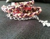 Bracelet Love Summer sur http://www.alittlemarket.com/boutique/les_bobines_de_julie-615375.html?v=7