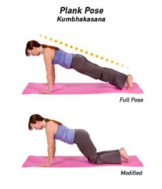 Plank Pose — Kumbhakasana (koom-bahk-AHS-uh-nuh) — is an arm balancing yoga pose that tones the abdominal muscles while strengthening the arms and spine. Its name comes from the Sanskrit words kum Yoga Abs, Yin Yoga, Vinyasa Yoga, Image Yoga, Yoga For Golfers, Planks For Beginners, How To Do Planks, Detox Yoga