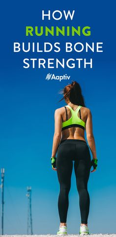 How Running Builds Bone Strength - Aaptiv Benefits Of Running, Bone Strength, Building, Outdoor, Outdoors, Buildings, Outdoor Games, Construction, Architectural Engineering