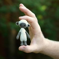 Micro-LUPO made by Anja H. / crochet pattern by lalylala