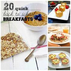 20 Quick Back-To-School Breakfasts