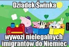 Read Świnka Pepa from the story Memy z bajek. Haha Funny, Hilarious, Polish Memes, Reaction Pictures, Good Mood, Pranks, Best Memes, Funny Images, I Am Awesome