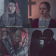 Riverdale ❤️ Season 2 Ep 17  Toni & Cheryl (Choni)