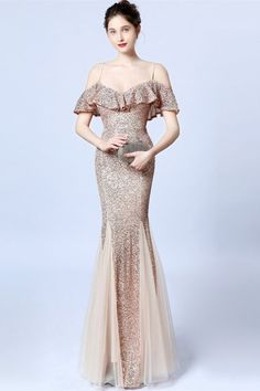 New Arrivals Source by dress sequin Affordable Prom Dresses, Prom Dresses Online, Formal Dresses, Wedding Dresses, Mermaid Prom Dresses, Homecoming Dresses, Long Evening Gowns, All Fashion, Sequin Dress