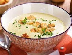 Das Rezept für Lauch-Kartoffel-Suppe mit Croûtons und weitere kostenlose Rezepte auf LECKER.de