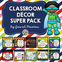 WIN A BUNDLE OF 10 CLASSROOM THEMES WORTH $100! - Win $100 worth of 10 classroom themes by joining this giveaway! Make sure to join right away though as this giveaway will only run for a week! May the odds be in your favor!.  A GIVEAWAY promotion for Classroom Themes BUNDLE from Jewel Pastor on TeachersNotebook.com (ends on 7-31-2016)