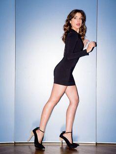 La actriz Adriana Ugarte
