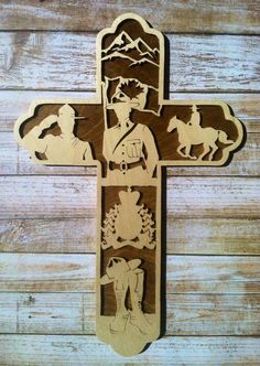 RCMP Cross Mountie Cross Gift for Mountie by BriarBeachDesigns