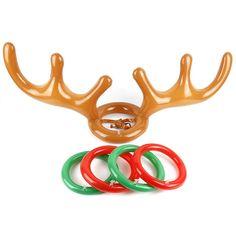 Reindeer Antler Ring Toss Toy