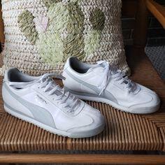 f405125eb Puma Shoes | Puma Roma Sneakers, 8.5 | Color: Gray/White | Size