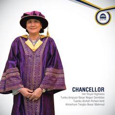 Chancellor - Her Royal Highness Tunku Ampuan Besar Negeri Sembilan Tuanku Aishah Rohani Binti Almarhum Tengku Besar Mahmud