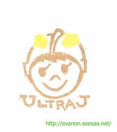 Super hero ULTRA-J just appears!